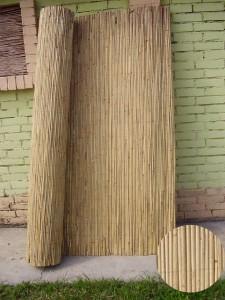 Canisse de cloture en roseau