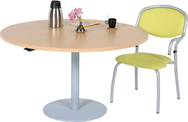 Table ronde manutan collectivit s achat vente de table for Pietement table ronde