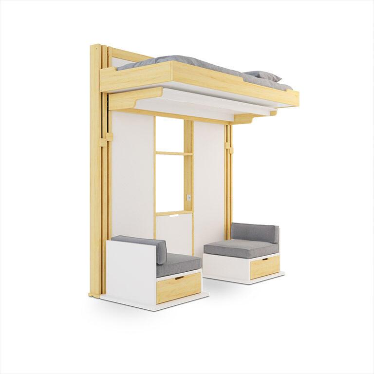 espace loggia produits lit pour enfant. Black Bedroom Furniture Sets. Home Design Ideas