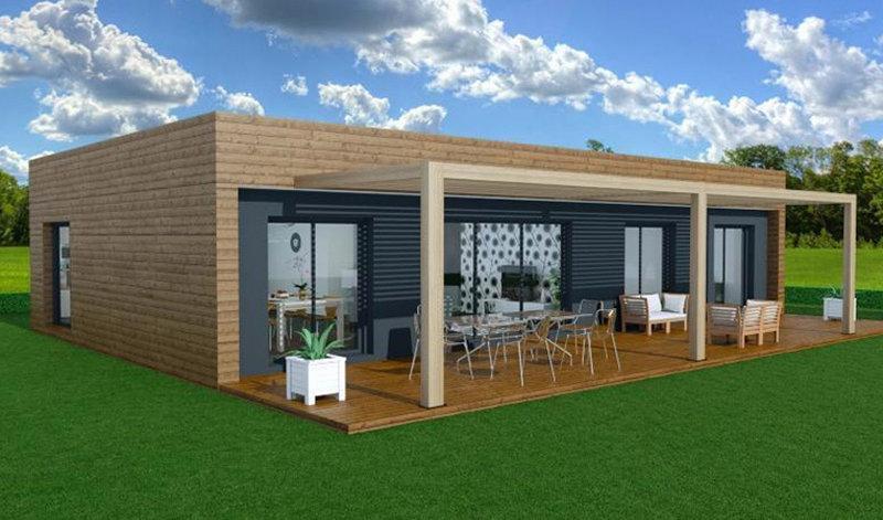booa produits maisons a ossature en bois. Black Bedroom Furniture Sets. Home Design Ideas