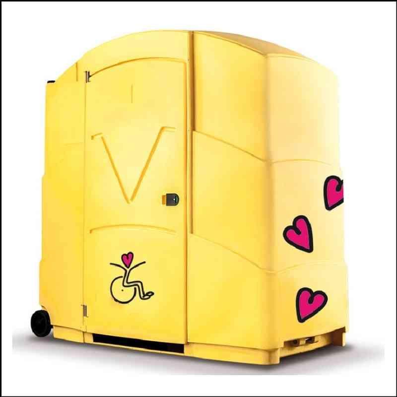 Toilettes mobiles autonomes / chimiques pmr