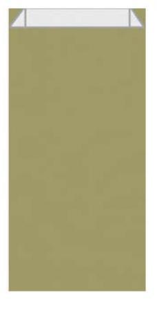 102059 - CARTON DE 250 POCHETTES KRAFT À SOUFFLET 18X5,5X35 CM, COLORIS OR