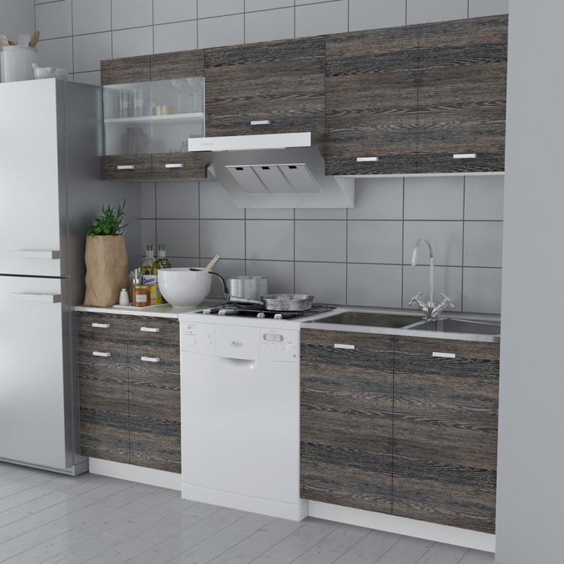 Cuisines quip es comparez les prix pour professionnels for Evier cuisine largeur 60 cm
