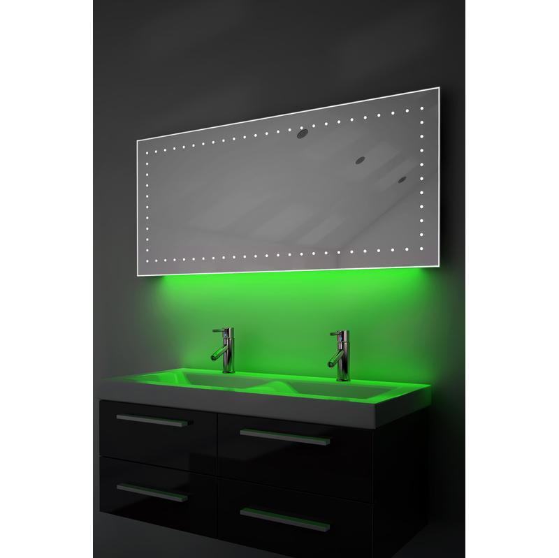 Miroir pour sanitaires diamond x collection achat - Miroir salle de bain anti buee ...