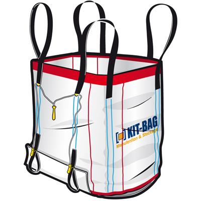 sacs big bag reutilisables type dst. Black Bedroom Furniture Sets. Home Design Ideas