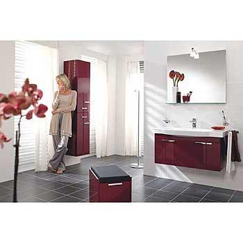Salle de bains contemporaine : collection sentique