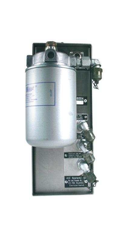 Aic 6000 uniflowmaster - débitmètre carburant - flowmeter - 2000 impulsions par litre (modèle 6004), 804 impulsions par litre (modèle 6008)