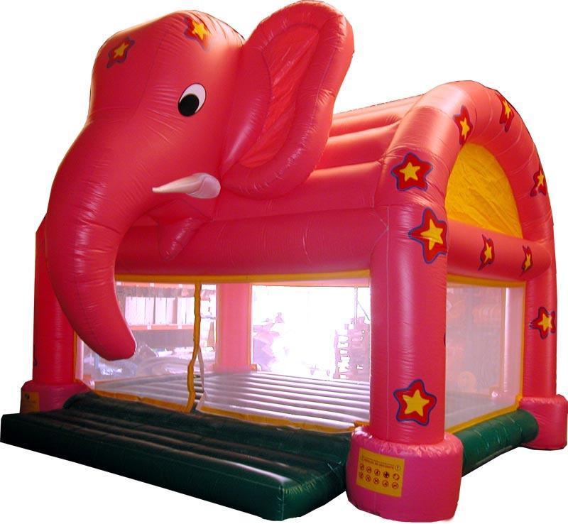 elephant rose gonflable ref ss 07 004 air et volume. Black Bedroom Furniture Sets. Home Design Ideas