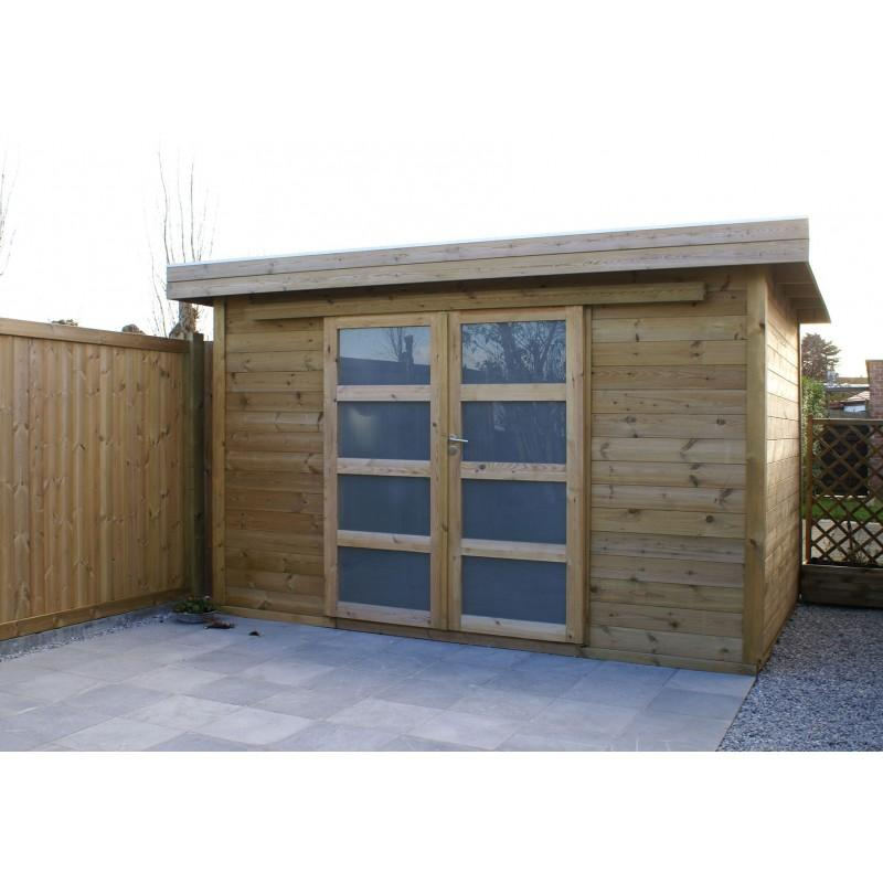 Abris de jardins tous les fournisseurs abri jardin metal abri terrasse tonnelle de - Abri jardin toit plat m creteil ...