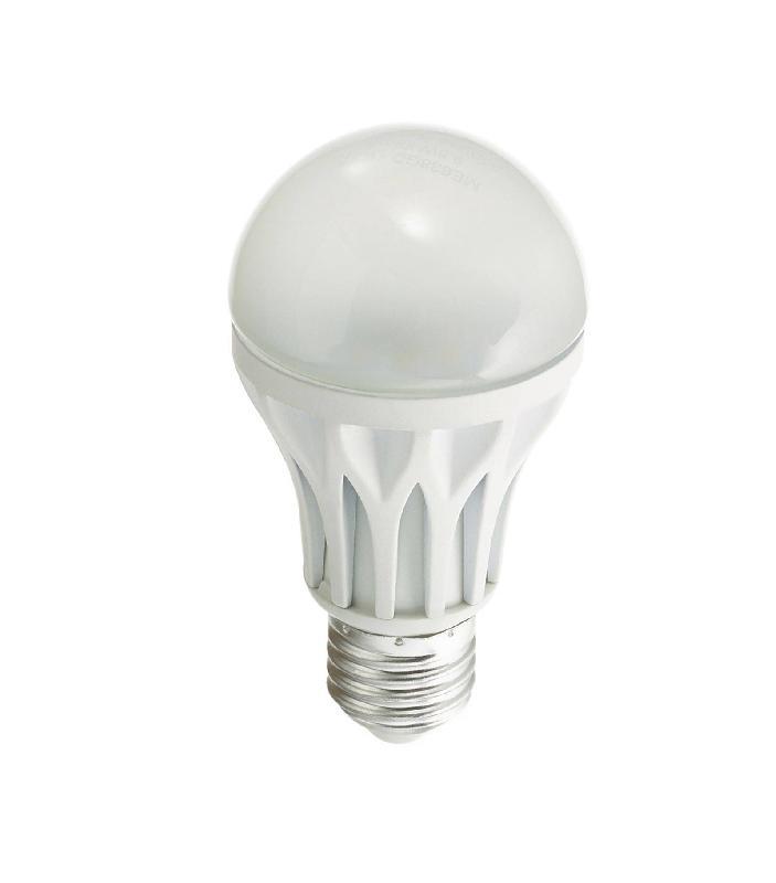 Ampoule Led E27 A60 Dimmable Smd 9.4w 638lm (équiv 40w) Blanc Chaud 110°  Xanlite