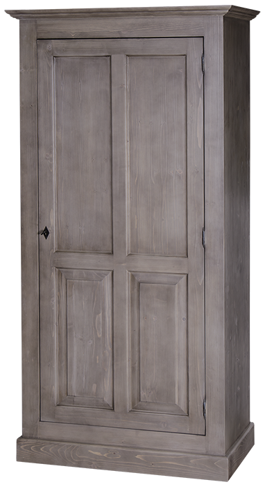 armoire 1 porte l 97 cm en pin massif bretagne comparer les prix de armoire 1 porte l 97 cm en. Black Bedroom Furniture Sets. Home Design Ideas