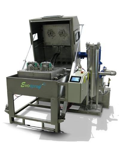 Machine de lavage calibrée hautement personnalisée pour traiter des pièces dédié
