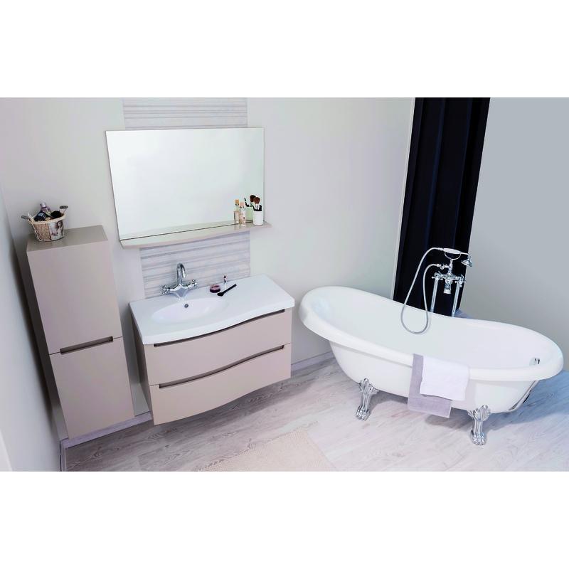 Colonne de rangement de salle de bain tous les for Colonne salle de bain suspendue