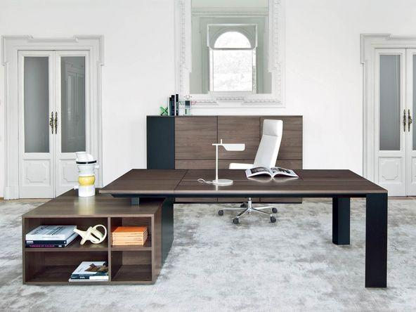 bureau de direction sur caisson moderne pas cher comparer. Black Bedroom Furniture Sets. Home Design Ideas