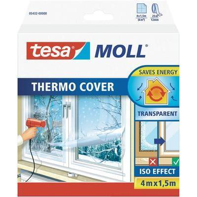 FILM ISOLANT THERMIQUE (L X L) 4 M X 1.5 M TRANSPARENT CONDITIONNEMENT: 1 BOBINE(S) TESA 05432-00