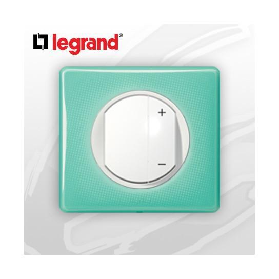 interrupteur variateur complet legrand celiane 50 39 s turquoise 400w comparer les prix de. Black Bedroom Furniture Sets. Home Design Ideas