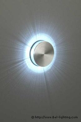 luminaire encastre de mur disco 360. Black Bedroom Furniture Sets. Home Design Ideas