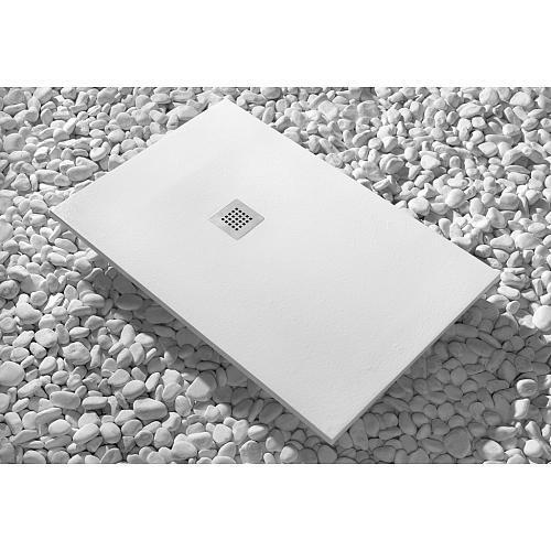 Receveur de douche poser en luxtone recoupable 70x90 cm strato sanyce - Receveur a carreler recoupable ...