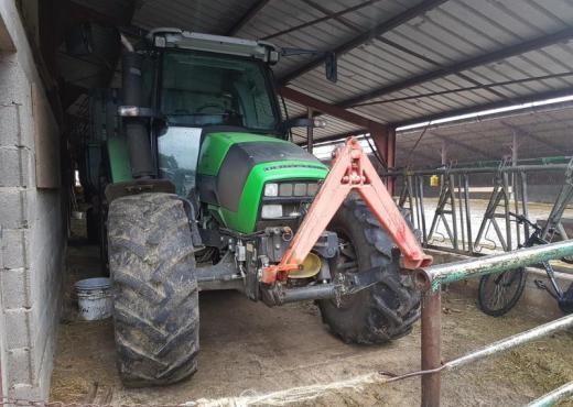 Tracteur  deutz agrotron k 420 36230