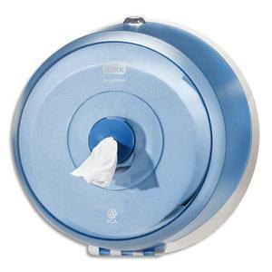 DISTRIBUTEUR PAPIER TOILETTE EN ROULEAU SMARTONE MINI ABS - DIMENSIONS : L22,5 X H22,5 X P18 CM BLEU
