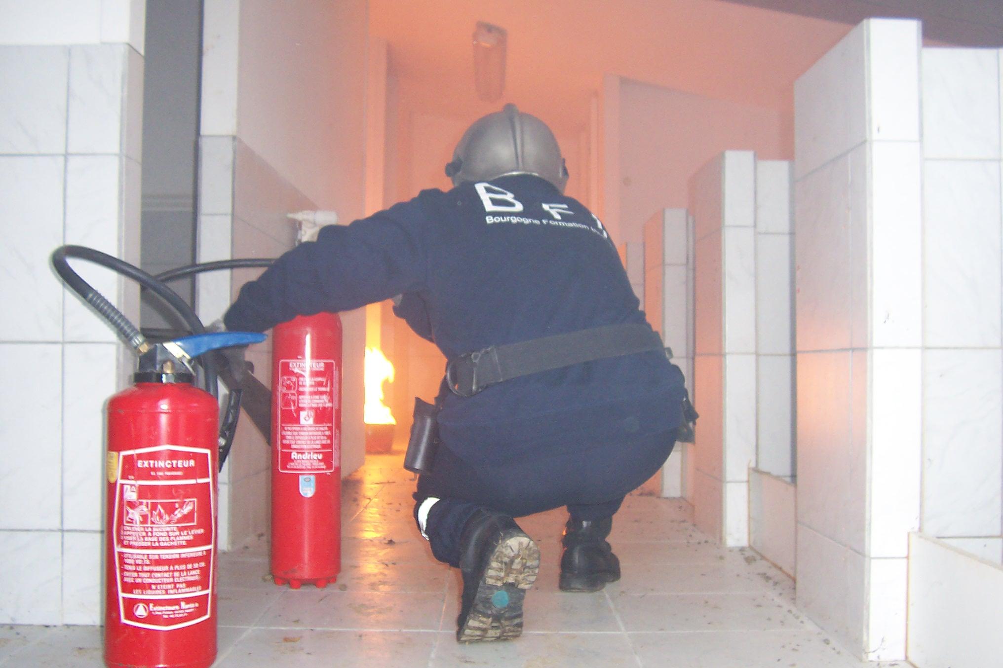 Formation securite incendie