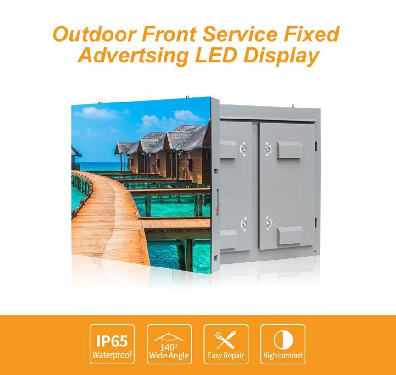 Affichage à led de publicité fixe pour service extérieur extérieur - lcf-led