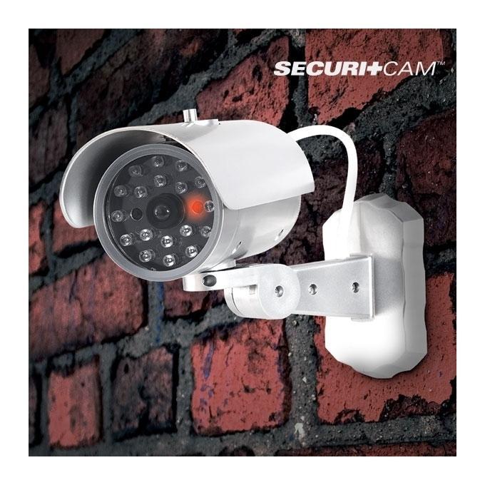 Cam ra de vid osurveillance factice tous les - Fausse camera de surveillance exterieur ...