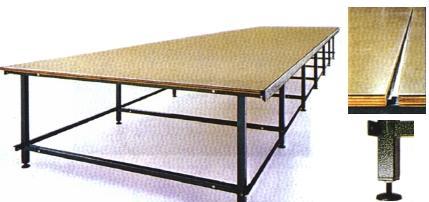 Table de coupe lourde pour matelassage des tissus