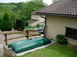Citerne souple 5000 l pour la récupération d'eau de pluie