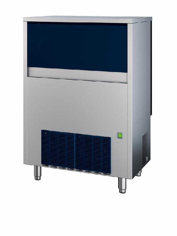 Machine à glace granulaire, refroidissement à eau, 155 kg/24 h - bab0002/w