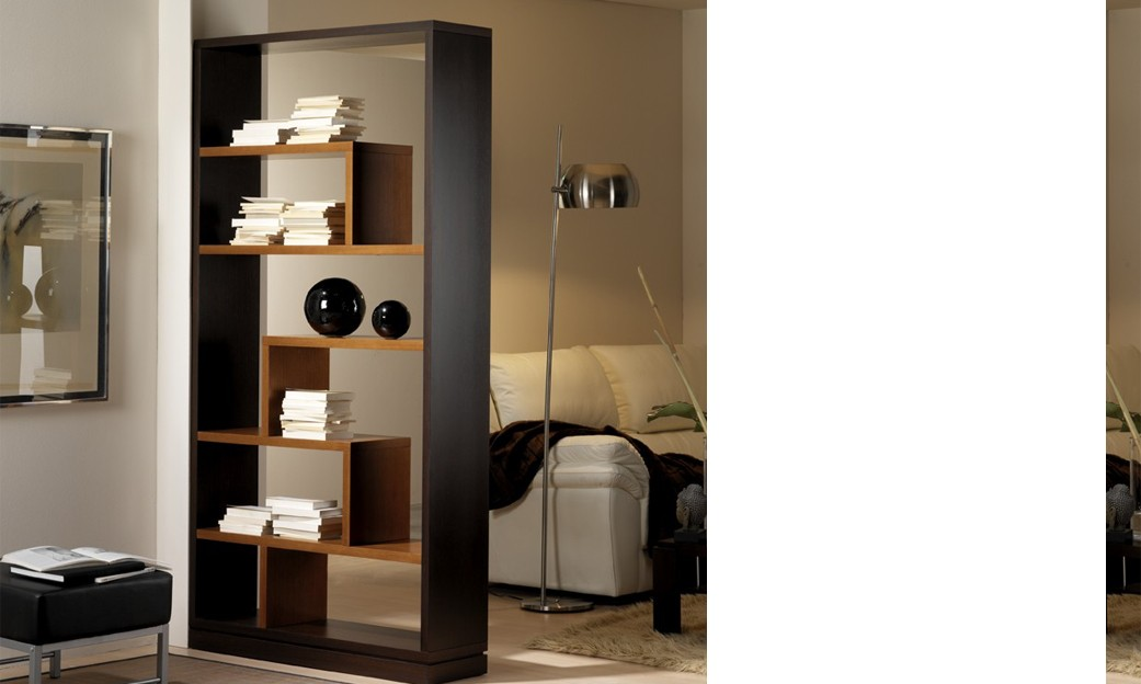 meuble bibliotheque contemporaine de separation sparata. Black Bedroom Furniture Sets. Home Design Ideas