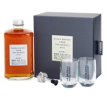 NIKKA COFFRET FROM THE BARREL + 2 VERRES