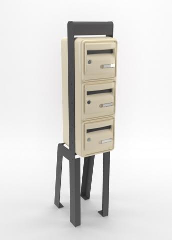 boites aux lettres multiples tous les fournisseurs. Black Bedroom Furniture Sets. Home Design Ideas