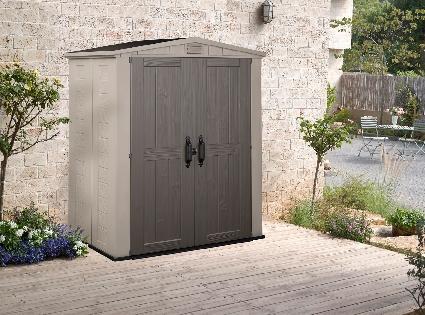 abris de jardin comparez les prix pour professionnels. Black Bedroom Furniture Sets. Home Design Ideas