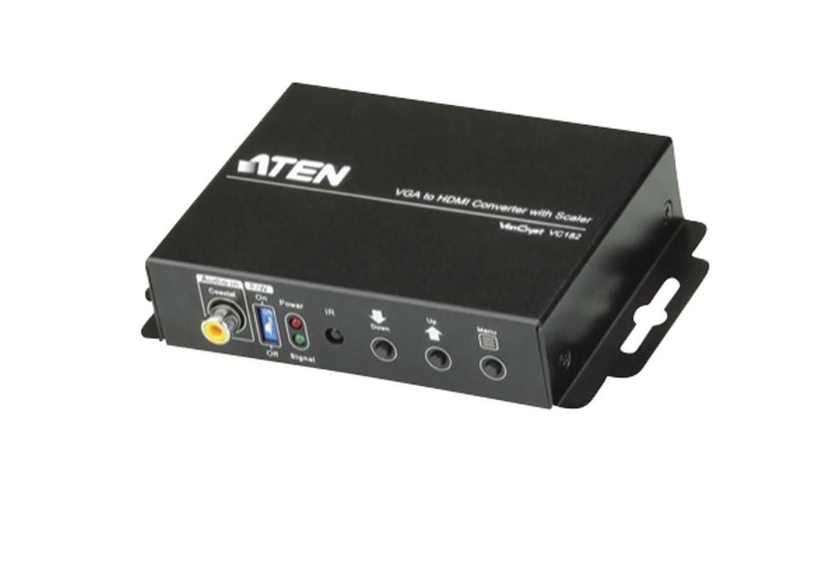 CONVERTISSEUR VGA + AUDIO VERS HDMI ATEN VC182-AT-G