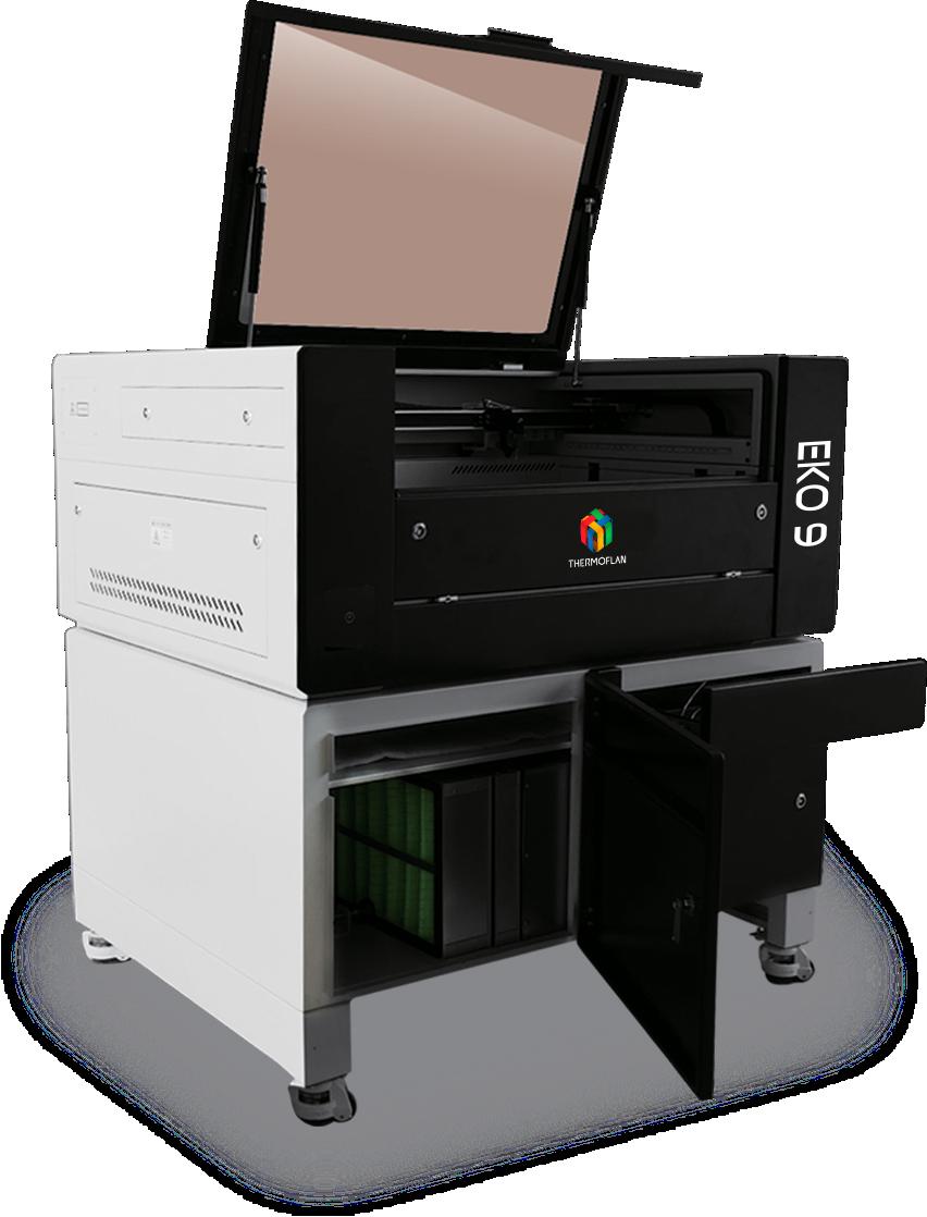 Machine decoupe laser co2