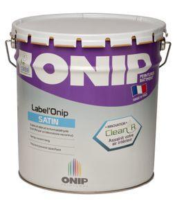 Peinture satinée label'onip satin clean'r