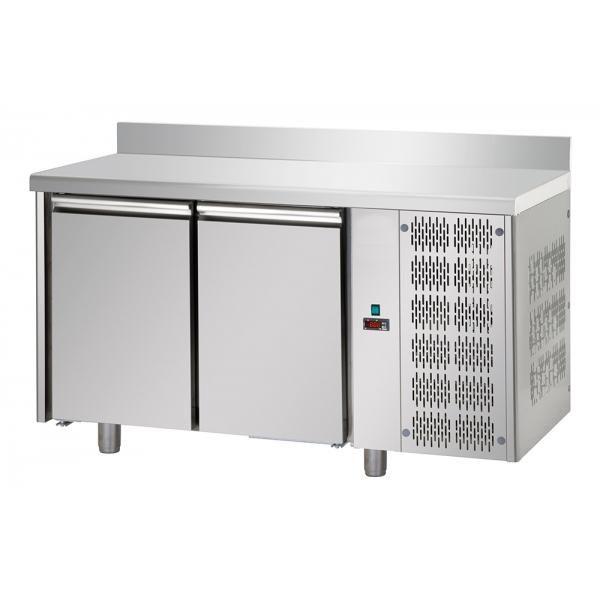 Tour à pâtisserie réfrigéré avec 2 porte – meuble inox en plan - synergies