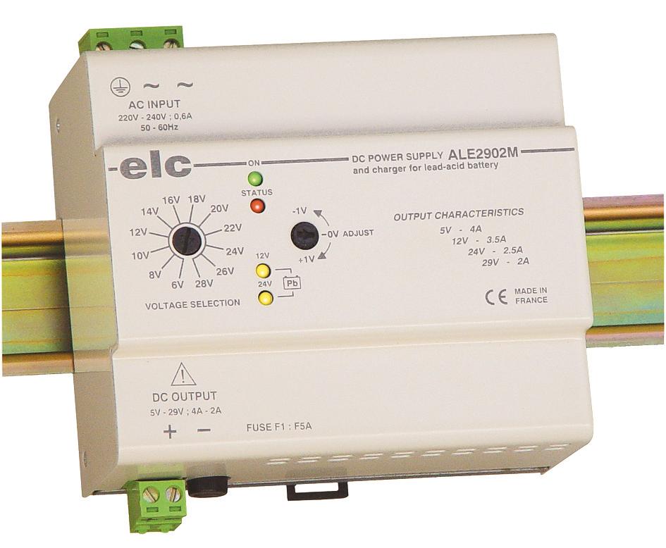 Chargeurs de batteries industrielles