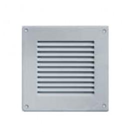 grille ventilation 140x140mm alu inox. Black Bedroom Furniture Sets. Home Design Ideas