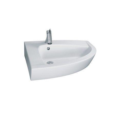 lavabo suspendu d 39 angle en c ramique newday comparer les. Black Bedroom Furniture Sets. Home Design Ideas