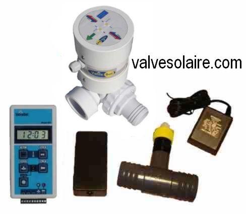 Regulateur de temperature pour panneaux solaires valve - Panneaux solaire pour piscine ...