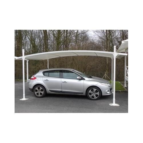 Abri voiture aluminium toit reglable en hauteur - Abri voiture aluminium ...