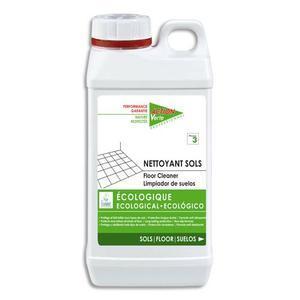 Action verte bidon d'1 litre nettoyant sols sans rinçage, parfumé