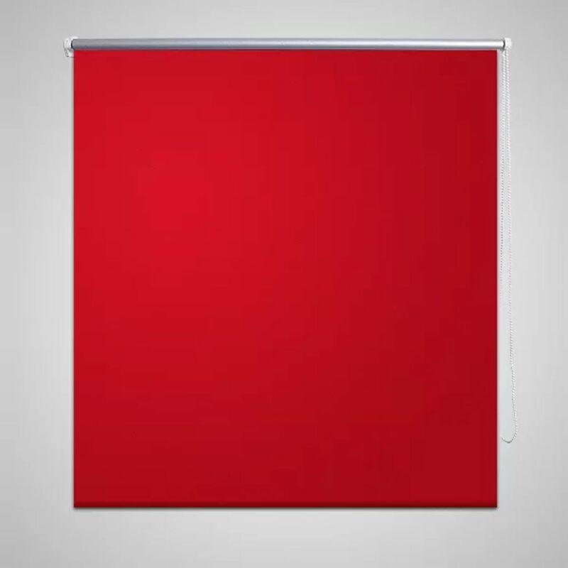 vidaxl store enrouleur occultant 100 x 175 cm rouge comparer les prix de vidaxl store enrouleur. Black Bedroom Furniture Sets. Home Design Ideas