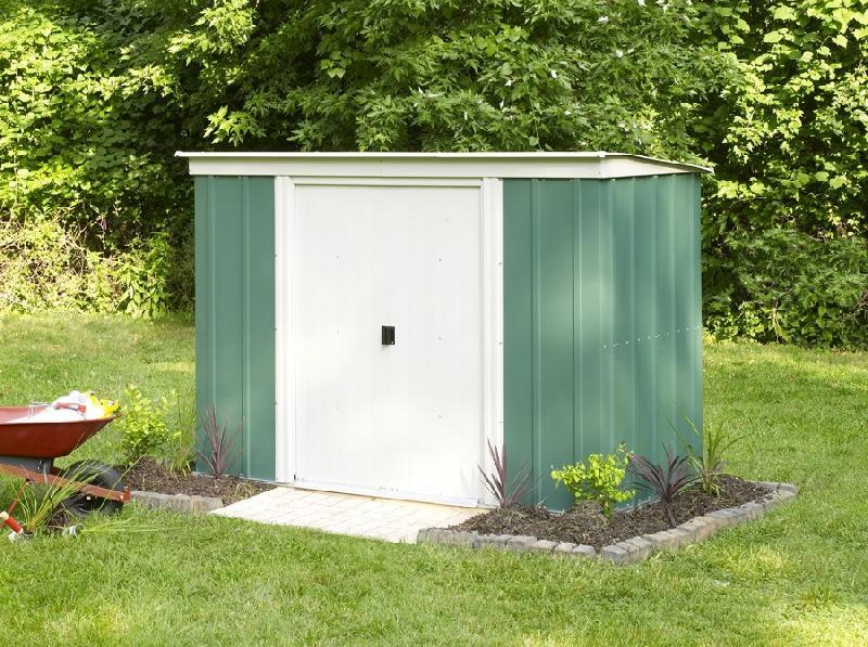 abri de jardin m tal monopente 2 3m2 comparer les prix de abri de jardin m tal monopente 2 3m2. Black Bedroom Furniture Sets. Home Design Ideas