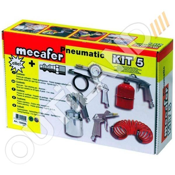MECAFER KIT 5 ACCESSOIRES ET KIT CONNECTION UNIVERSEL MECAFER 150096