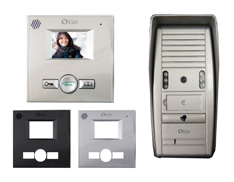 mini portier vid o 2 fils otio comparer les prix de mini. Black Bedroom Furniture Sets. Home Design Ideas