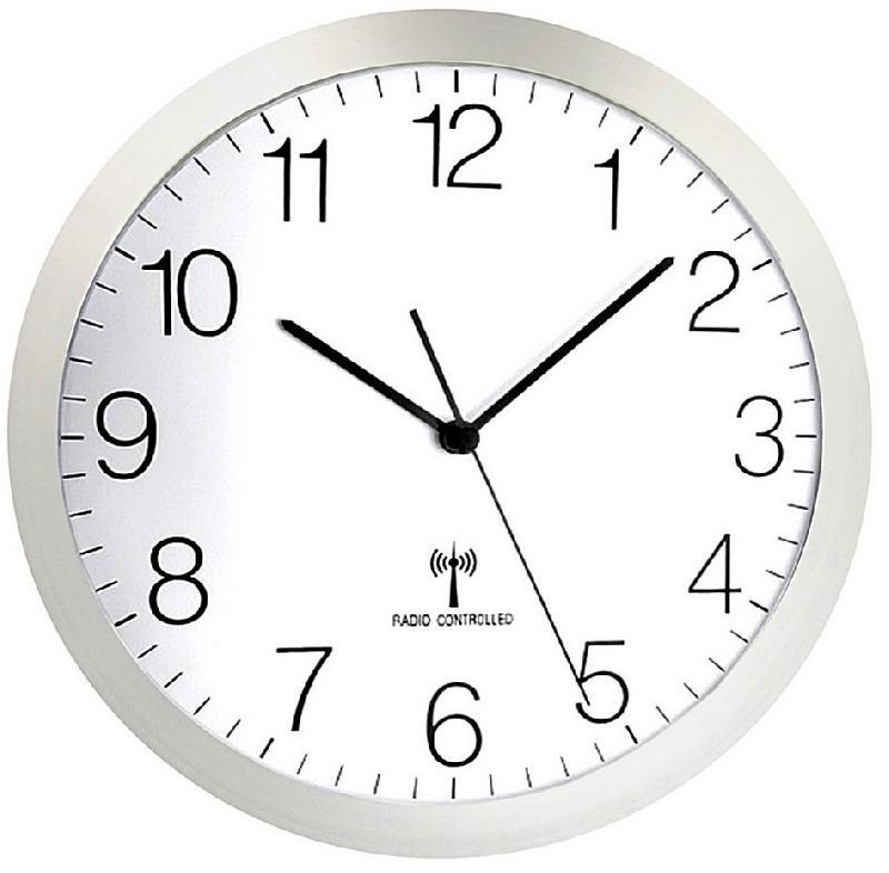 Pendule/horloge murale abs - radio #6302t
