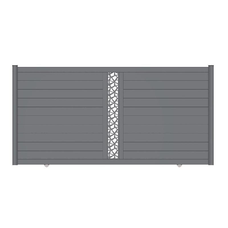 Portails coulissants tous les fournisseurs portail for Portail aluminium coulissant 3m50